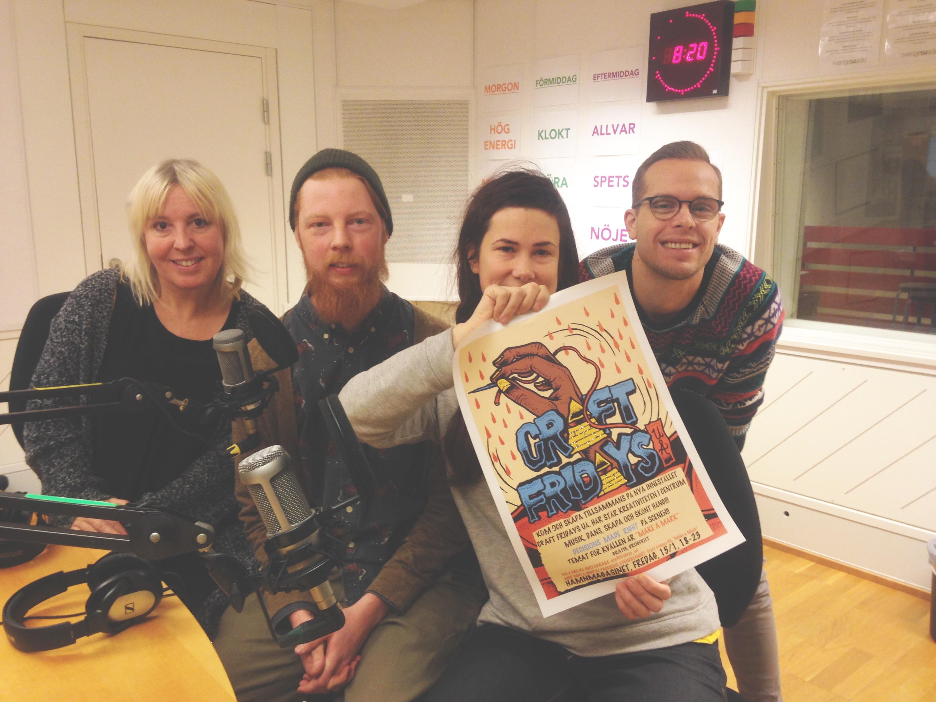 Smörknivsupproret på Radio P4 Västerbotten