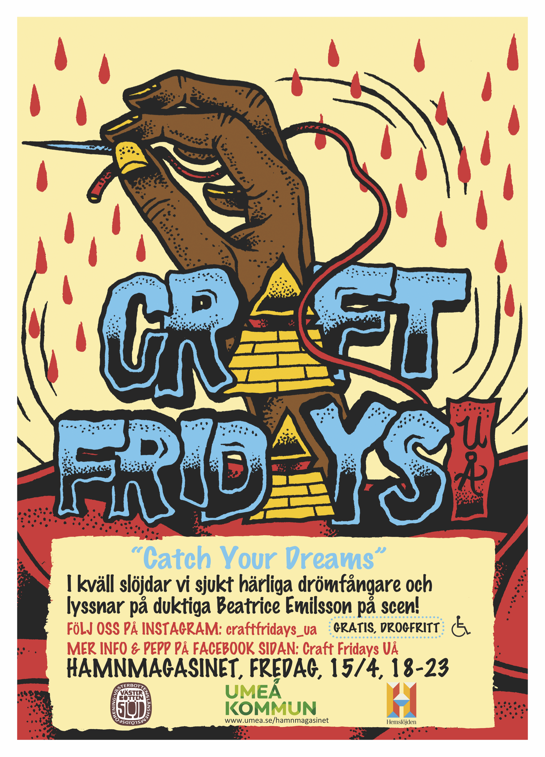 Nästa Craft Fridays UÅ den 15/4