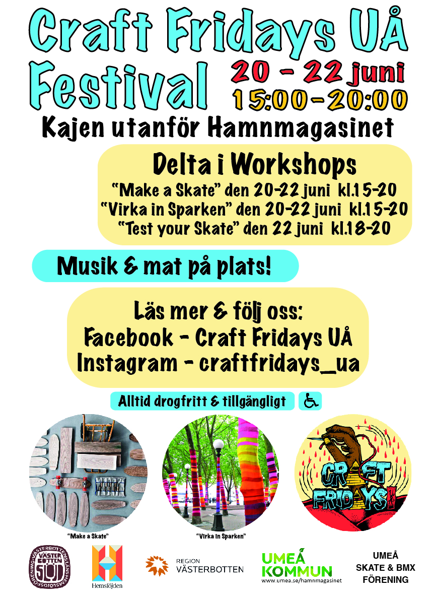 Craft Fridays UÅ Festival 20-22 juni