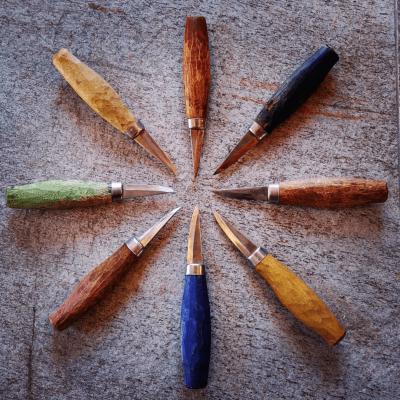 Kurs i täljning och knivslipning