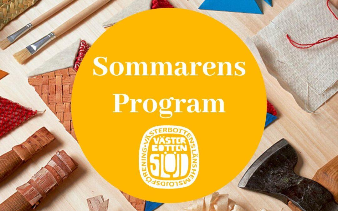 Sommarens program
