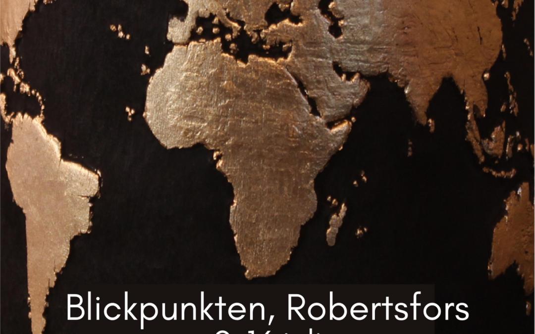 En värld full av tecken – Utställningsfolder
